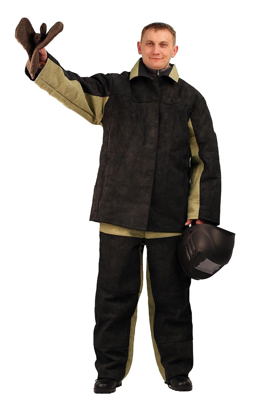 костюм сварщика картинка как инструкция, прилагаемая